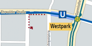 Cognemotion bei U-Bahn U6 Westpark